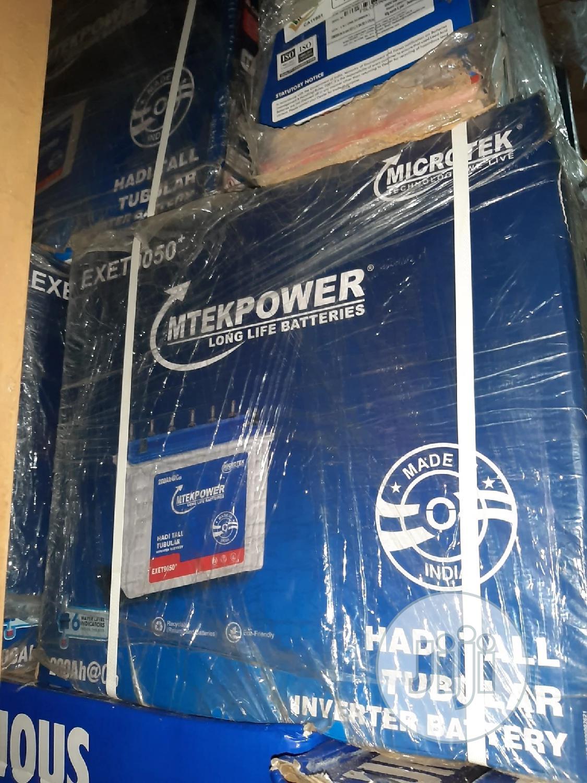 12V 200ah Microtek Tubular Solar Battery | Solar Energy for sale in Ojo, Lagos State, Nigeria