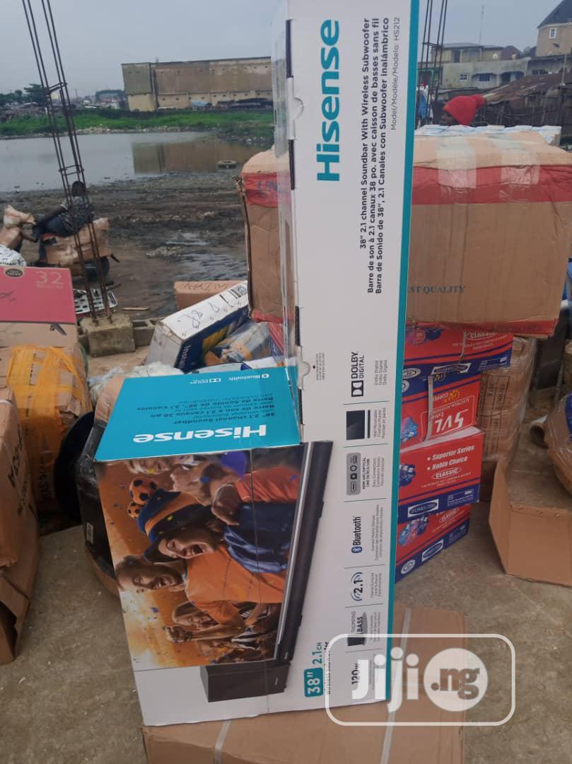 Hisense Super Bass Sound Bar 120watts   Audio & Music Equipment for sale in Ojo, Lagos State, Nigeria