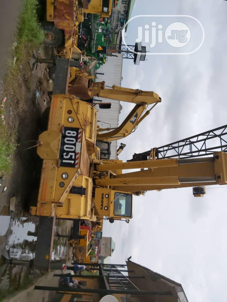 75tons Grove Crane With LMI System 1998   Heavy Equipment for sale in Surulere, Lagos State, Nigeria