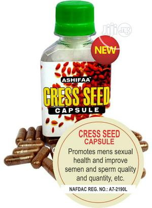 Cress Seed Capsule | Sexual Wellness for sale in Lagos State, Agege