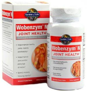Garden of Life Wobenzym® N Joint Health - 100 Tabs | Vitamins & Supplements for sale in Lagos State, Alimosho
