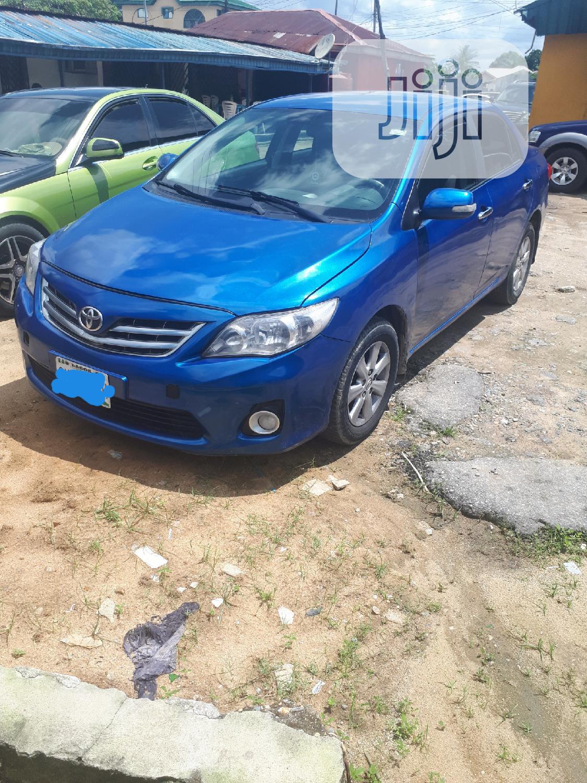 Archive Toyota Corolla 2012 Blue In Port Harcourt Cars Idongesit Edet Jiji Ng