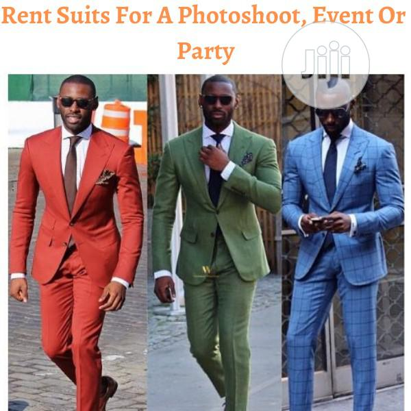 Rent A Suit For A Photoshoot, Event Or Party