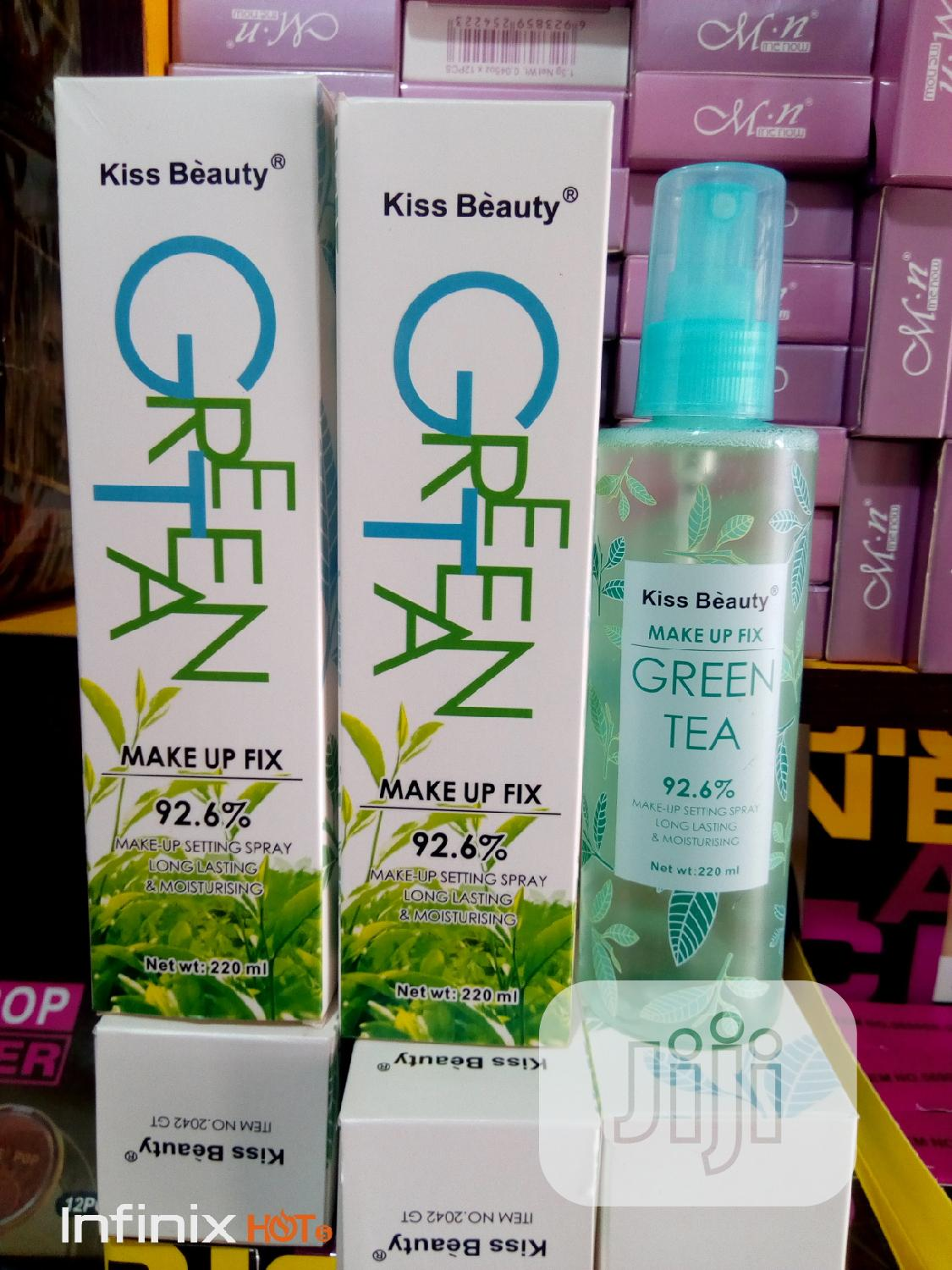 Green Tea Makeup Fix Spray