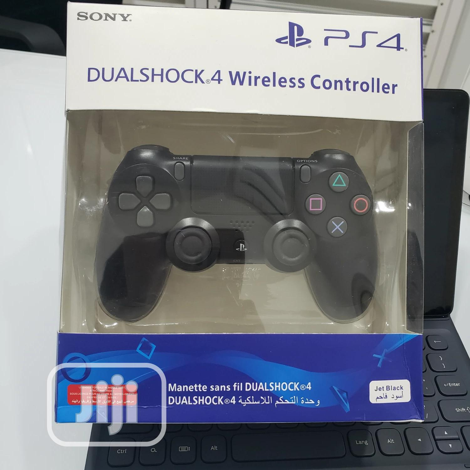Sony Playstation Dualshock 4 Wireless Controller | Accessories & Supplies for Electronics for sale in Ikeja, Lagos State, Nigeria