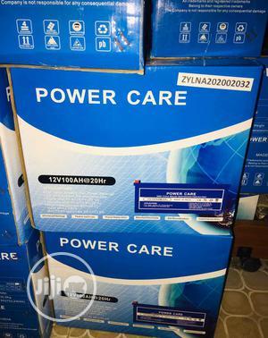 12volt 100ahs Power Care Battery | Solar Energy for sale in Lagos State, Ojo