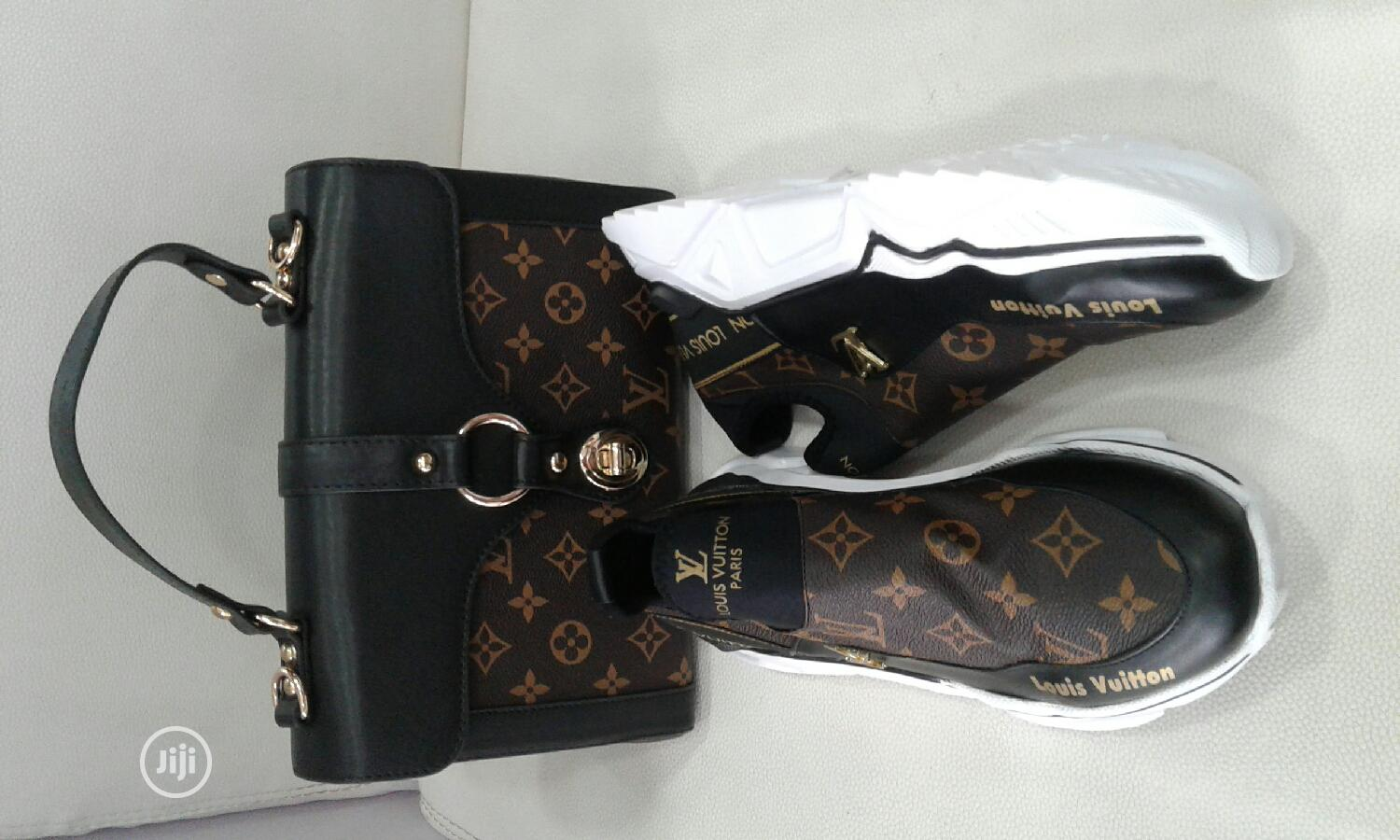 Louis Vuitton Bag With Shoe and Purse | Bags for sale in Amuwo-Odofin, Lagos State, Nigeria