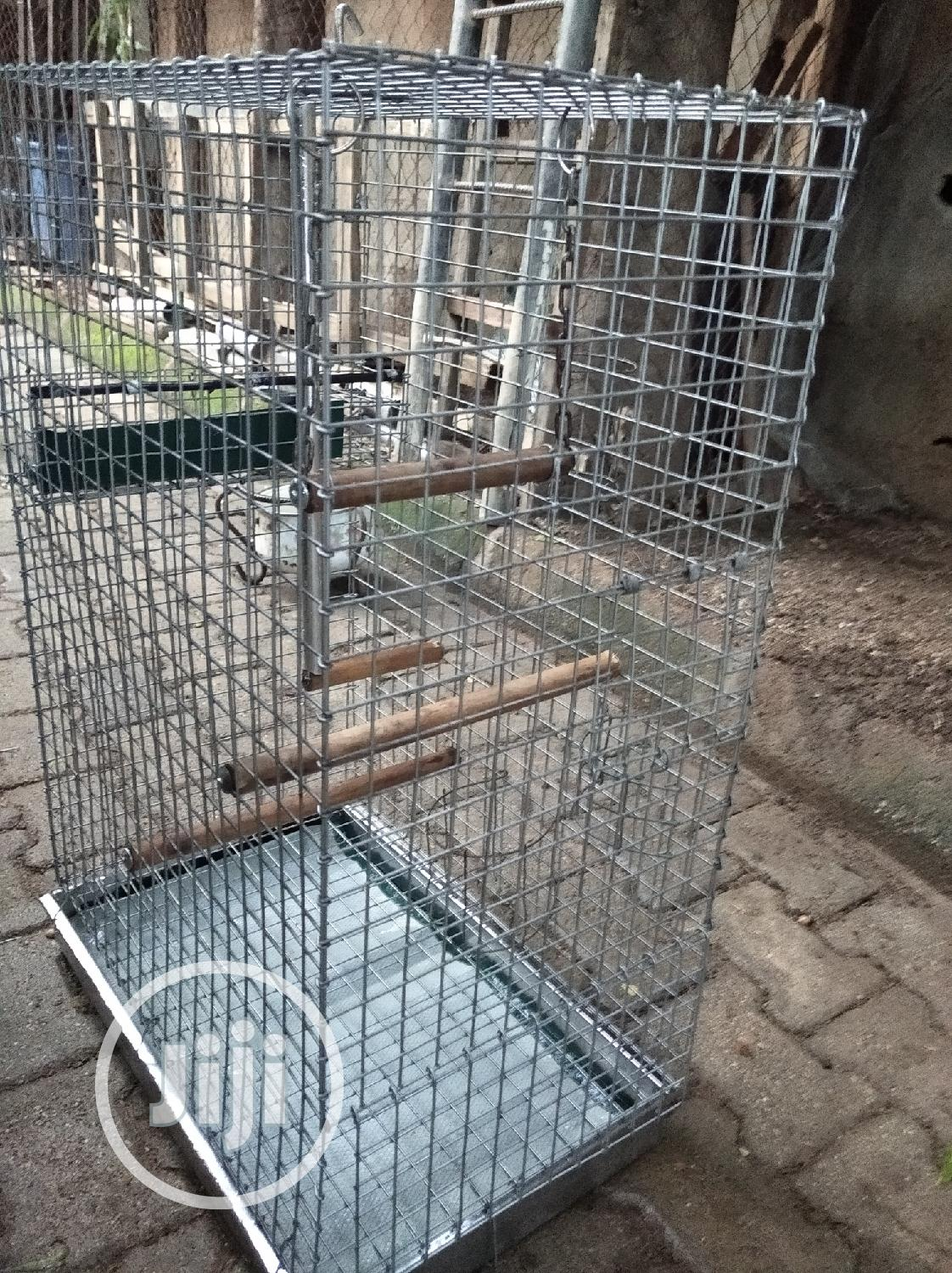 Parrot And Rabbit Cage   Pet's Accessories for sale in Kubwa, Abuja (FCT) State, Nigeria