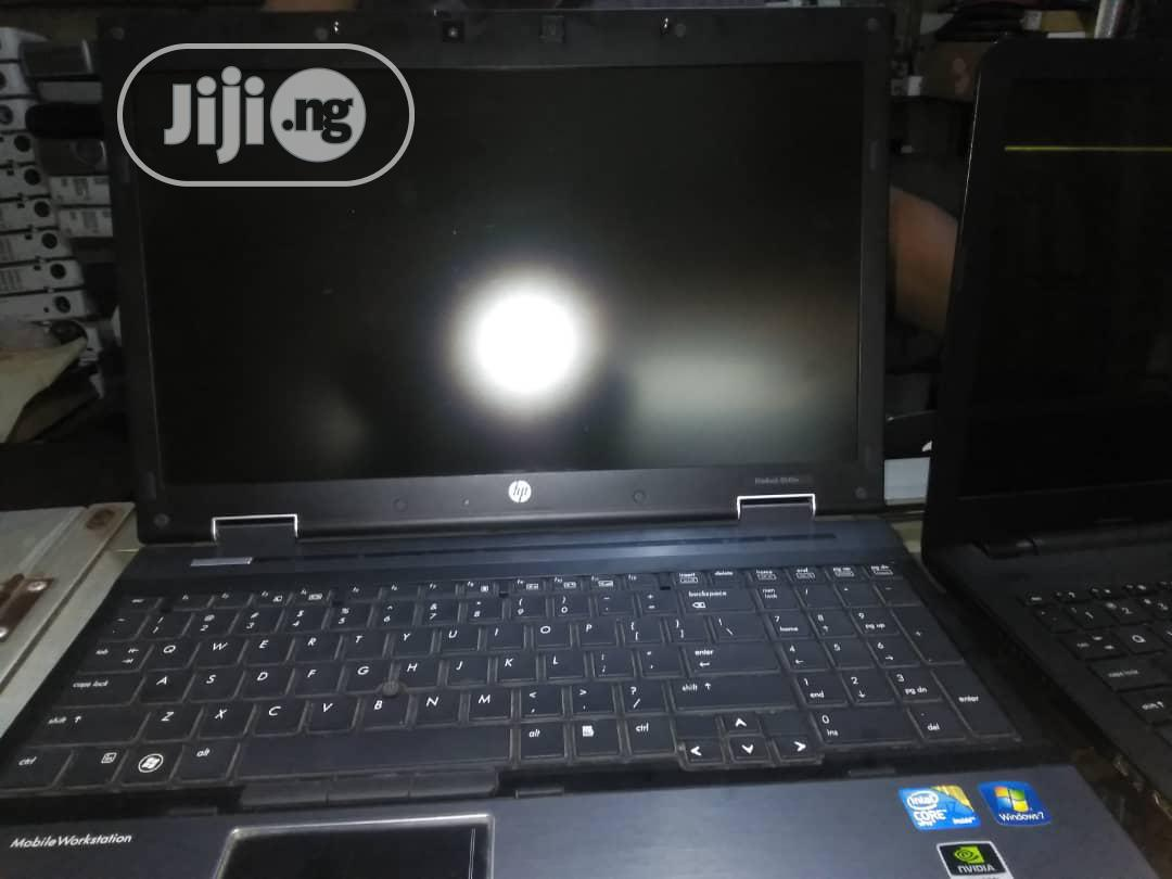 Laptop HP EliteBook 8540W 8GB Intel Core I7 HDD 500GB