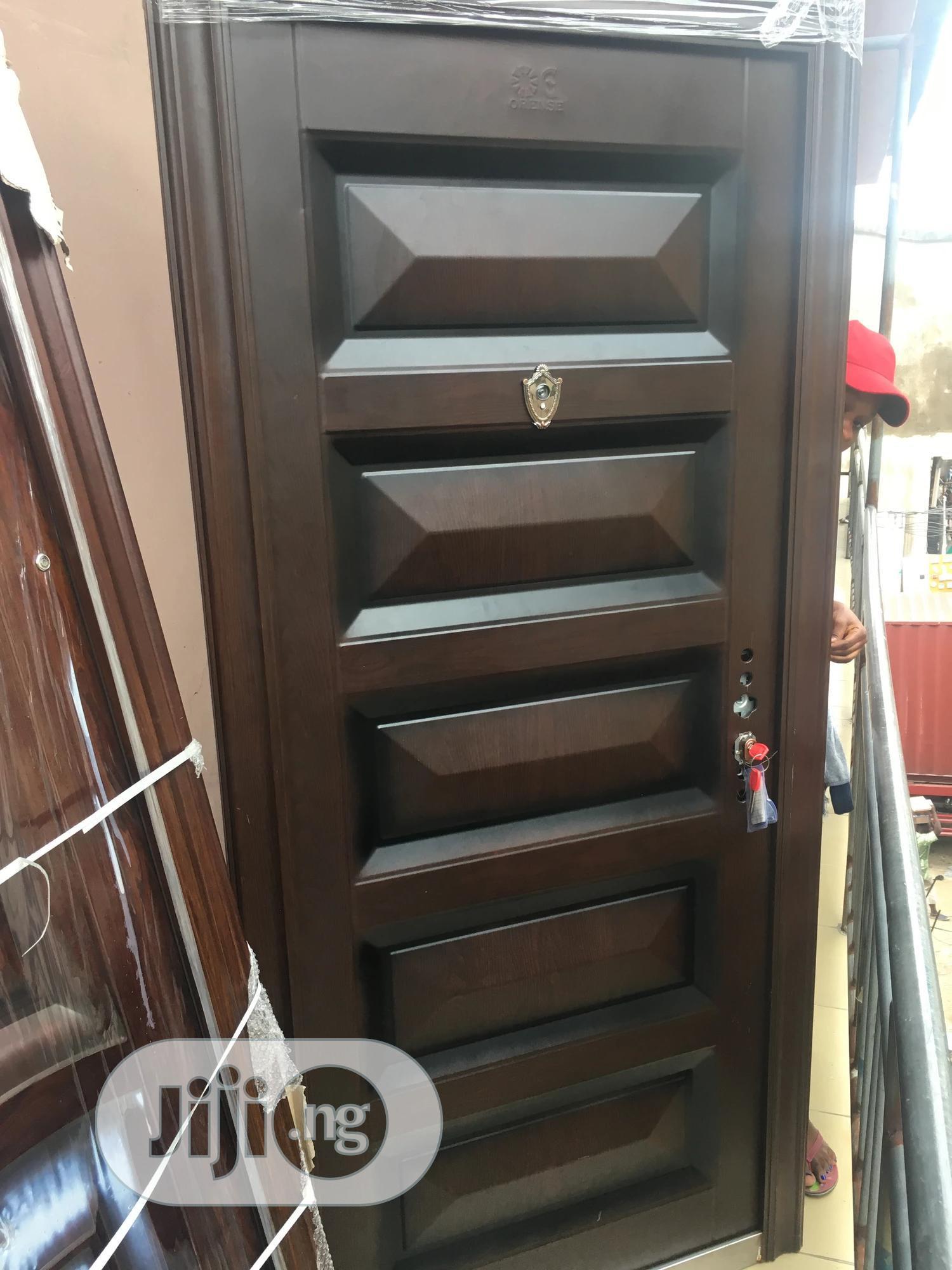 Security Steel Door 65mm