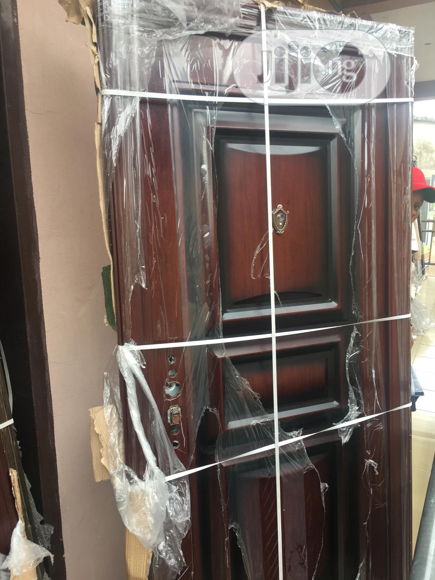 Security Steel Door 65mm | Doors for sale in Amuwo-Odofin, Lagos State, Nigeria