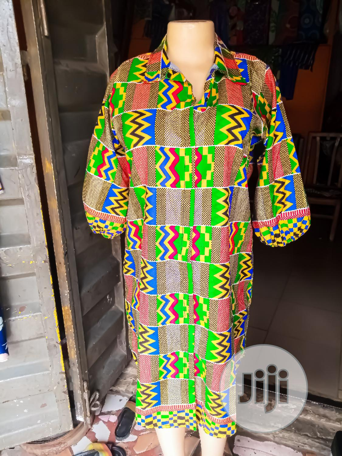 Mnacworld Ready to Wear Ankara Shirt Dress in Surulere