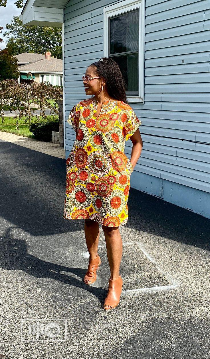 Ankara Shirt Dress in Surulere | Clothing for sale in Surulere, Lagos State, Nigeria