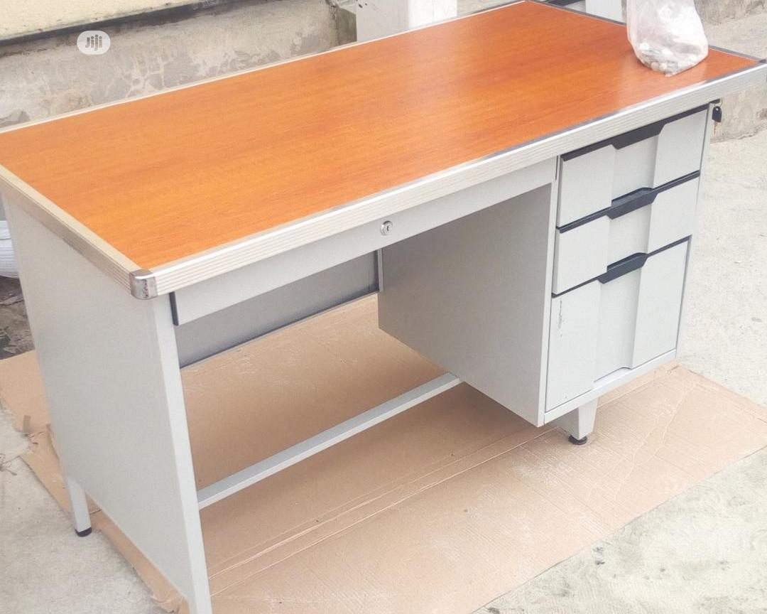 1.2mtr Metal Office Table