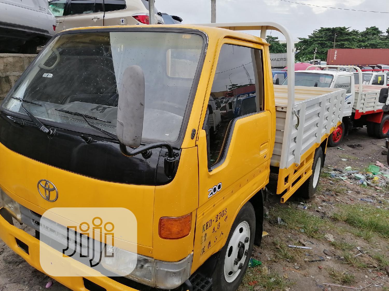 Toyota Dyna Yellow 200 | Trucks & Trailers for sale in Apapa, Lagos State, Nigeria