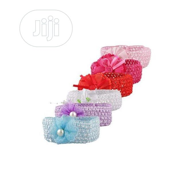 Baby Girl 6 in 1 Small Band Hair Accessories - Multi