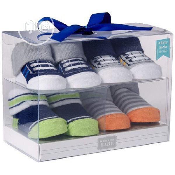 Hudson Baby Baby Boy Shoe Socks Set