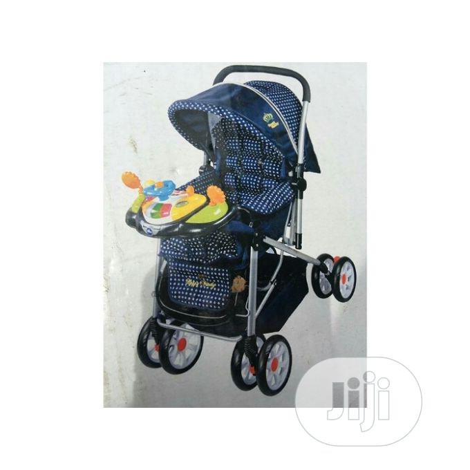 Happy Baby Lightweight Compact Baby Stroller With Baby Carri