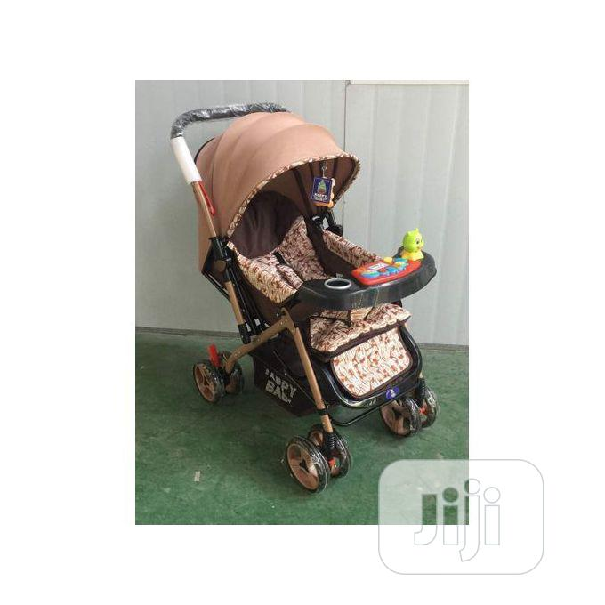 Happy Baby Lightweight Compact Baby Stroller With Baby Carri | Prams & Strollers for sale in Isolo, Lagos State, Nigeria