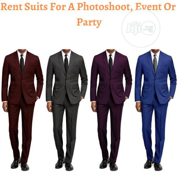 Rent A Suit For A Photoshoot, Event Or Party   Clothing for sale in Ojodu, Lagos State, Nigeria