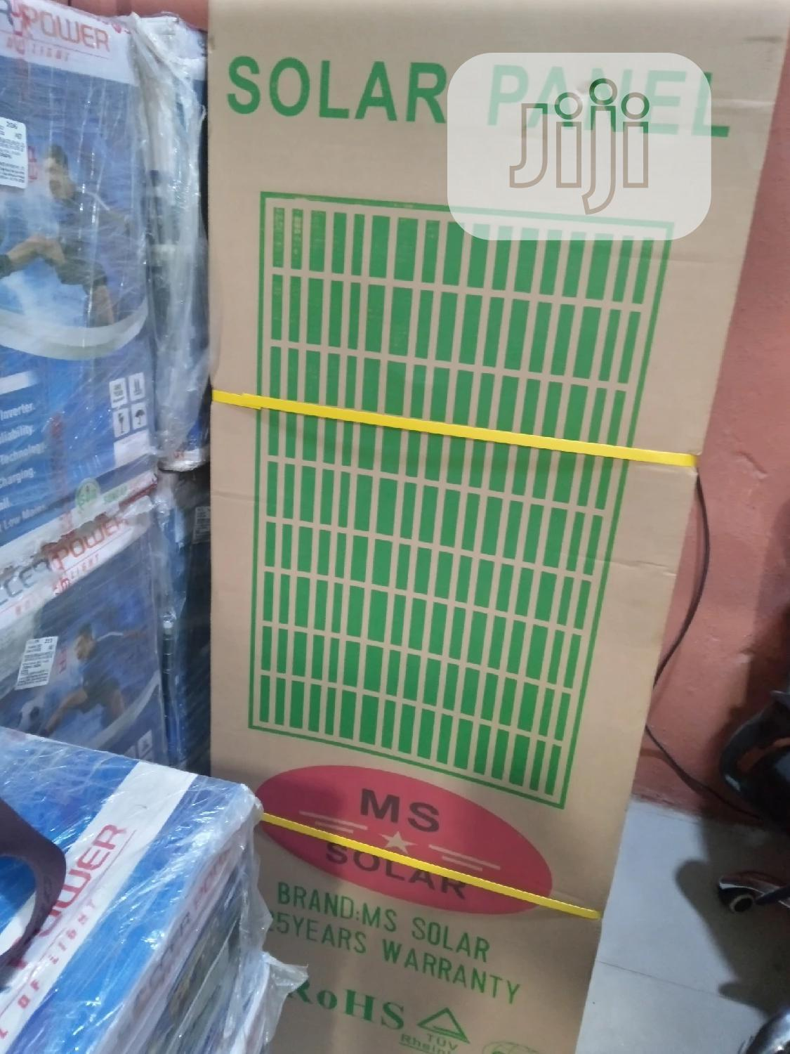Original Brand MS Solar Panels , 25 Warranty | Solar Energy for sale in Magodo, Lagos State, Nigeria