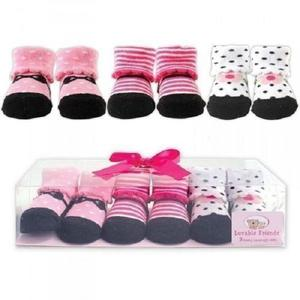 Loveable Designed Baby Socks Booties For Babies --- Set Of 3   Children's Clothing for sale in Lagos State, Isolo