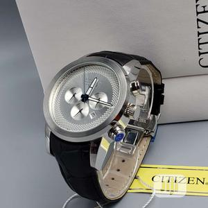Citizen Chronograph Silver Leather Strap Watch for Women's   Watches for sale in Lagos State, Lagos Island (Eko)