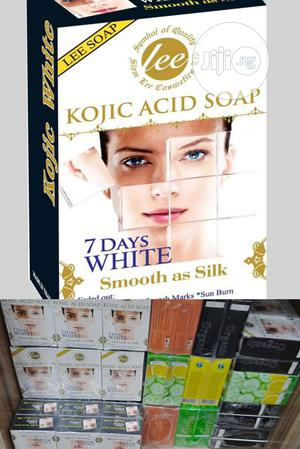 Lee Kojic Acid Soap for Dark Spots, Stretch Marks, Sun Burn. | Bath & Body for sale in Lagos State, Amuwo-Odofin