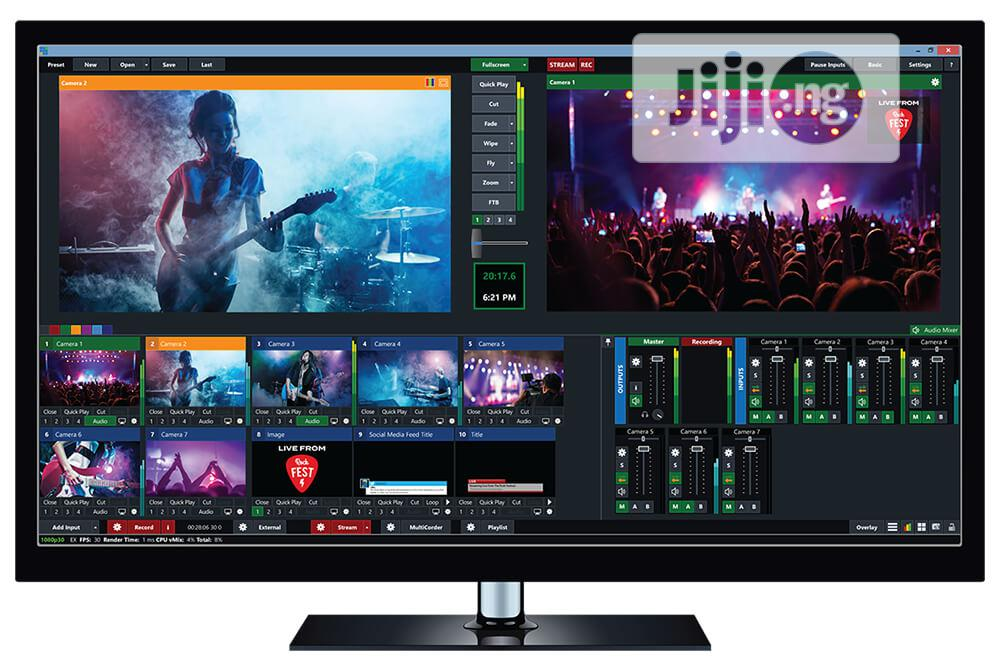 Cracked Vmix PRO Software For Live Streaming