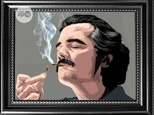 Frame Of Pablo Escobar | Home Accessories for sale in Lagos State, Agege