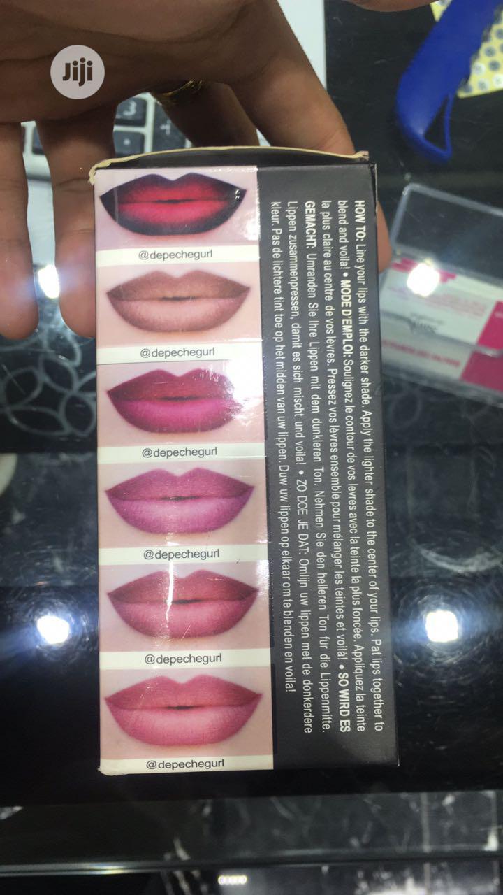 Ministar Ombre Lip Duo.   Makeup for sale in Amuwo-Odofin, Lagos State, Nigeria
