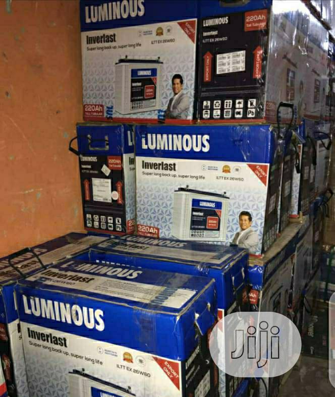 Luminous Solar Inverter Battery | Solar Energy for sale in Surulere, Lagos State, Nigeria