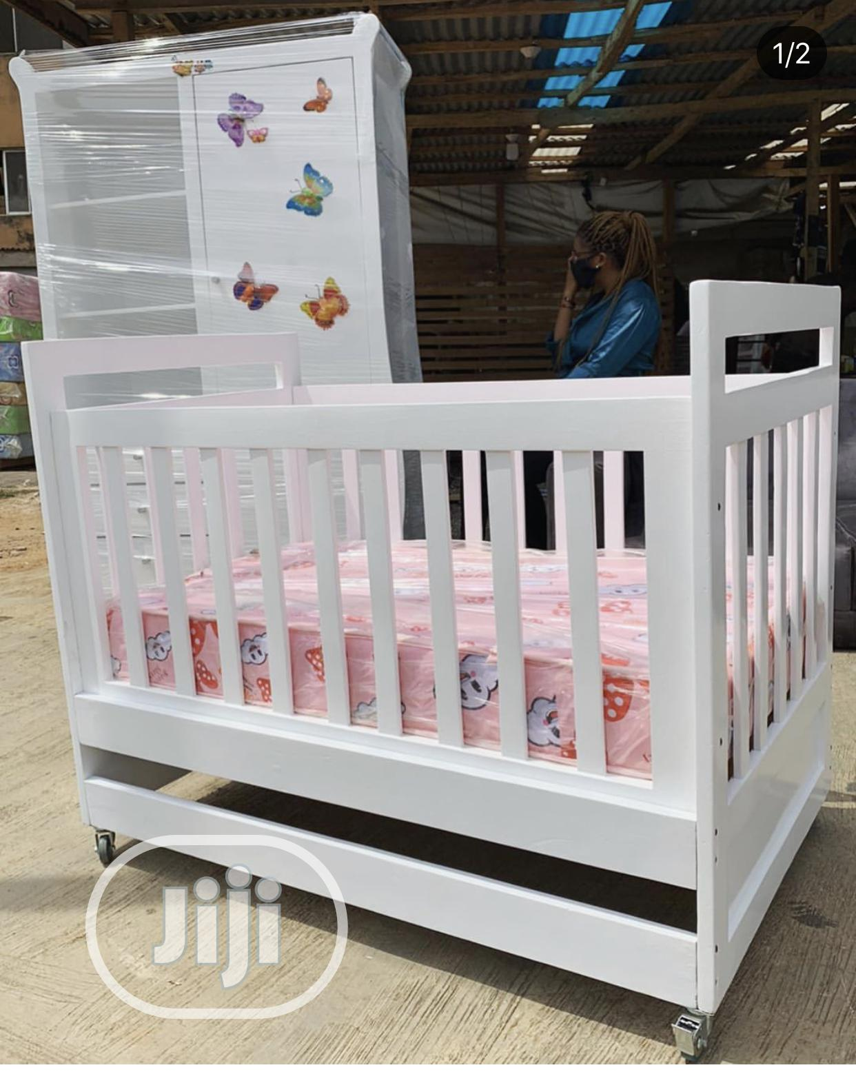 Baby Cot For Kids Nursery   Children's Furniture for sale in Ikeja, Lagos State, Nigeria