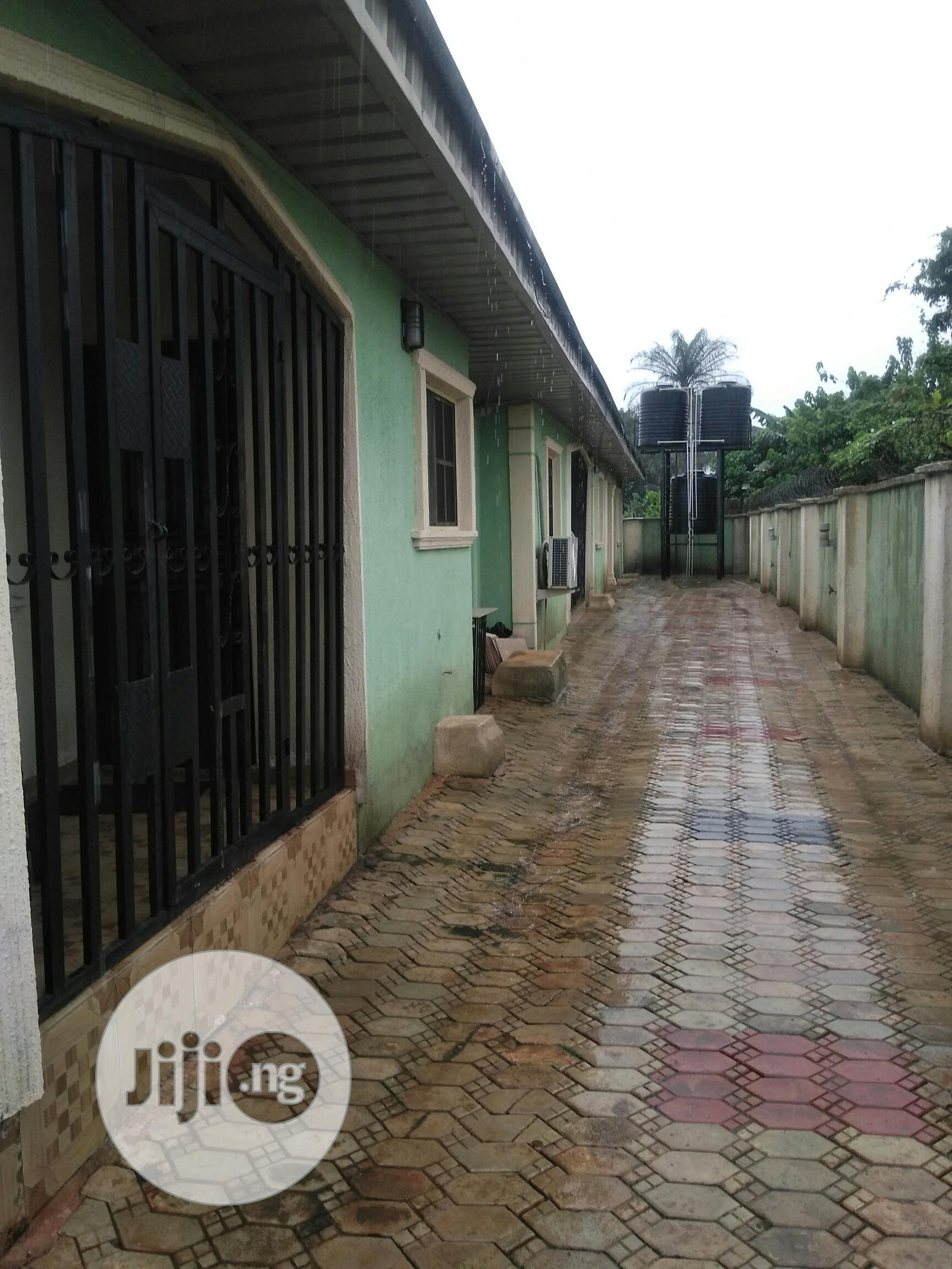 Simple 2 Bedroom Flat to Let, Just 3 Persons in the Compound