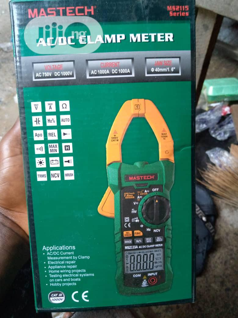 Mastech Digital Clamp Meter AC DC Voltage750v Multimeter