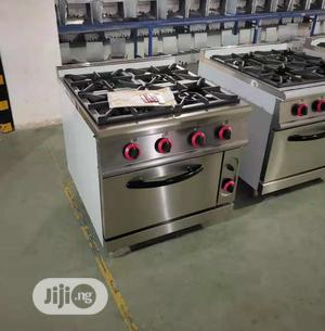 4 Burner Industrial Cooker With Oven   Restaurant & Catering Equipment for sale in Lagos State, Ojo