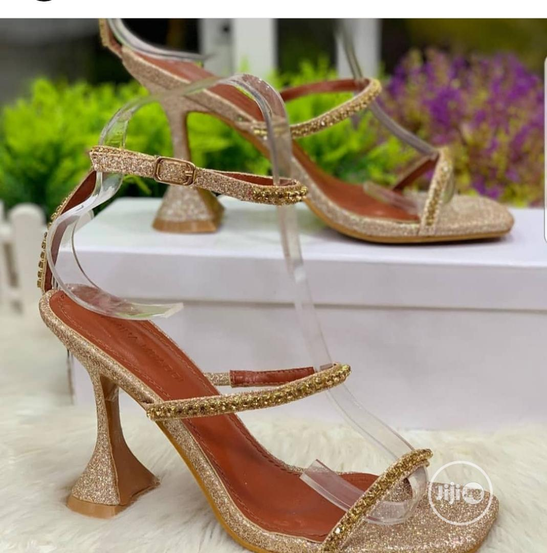 Quality Gold Sandals