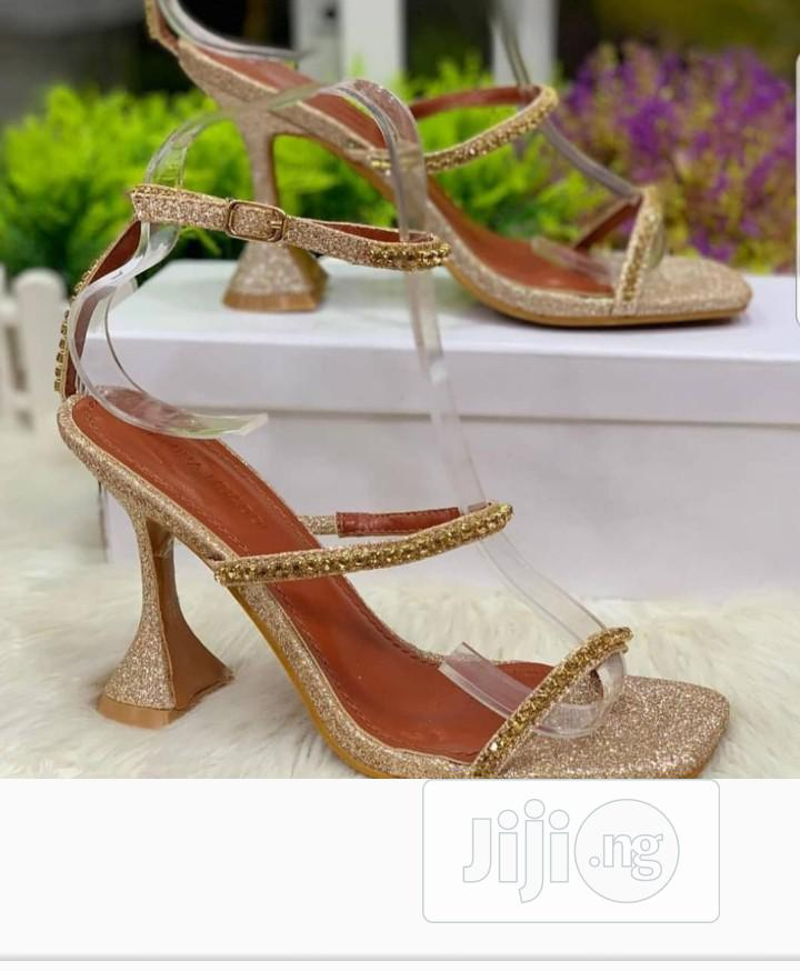 Quality Gold Sandals | Shoes for sale in Ikeja, Lagos State, Nigeria
