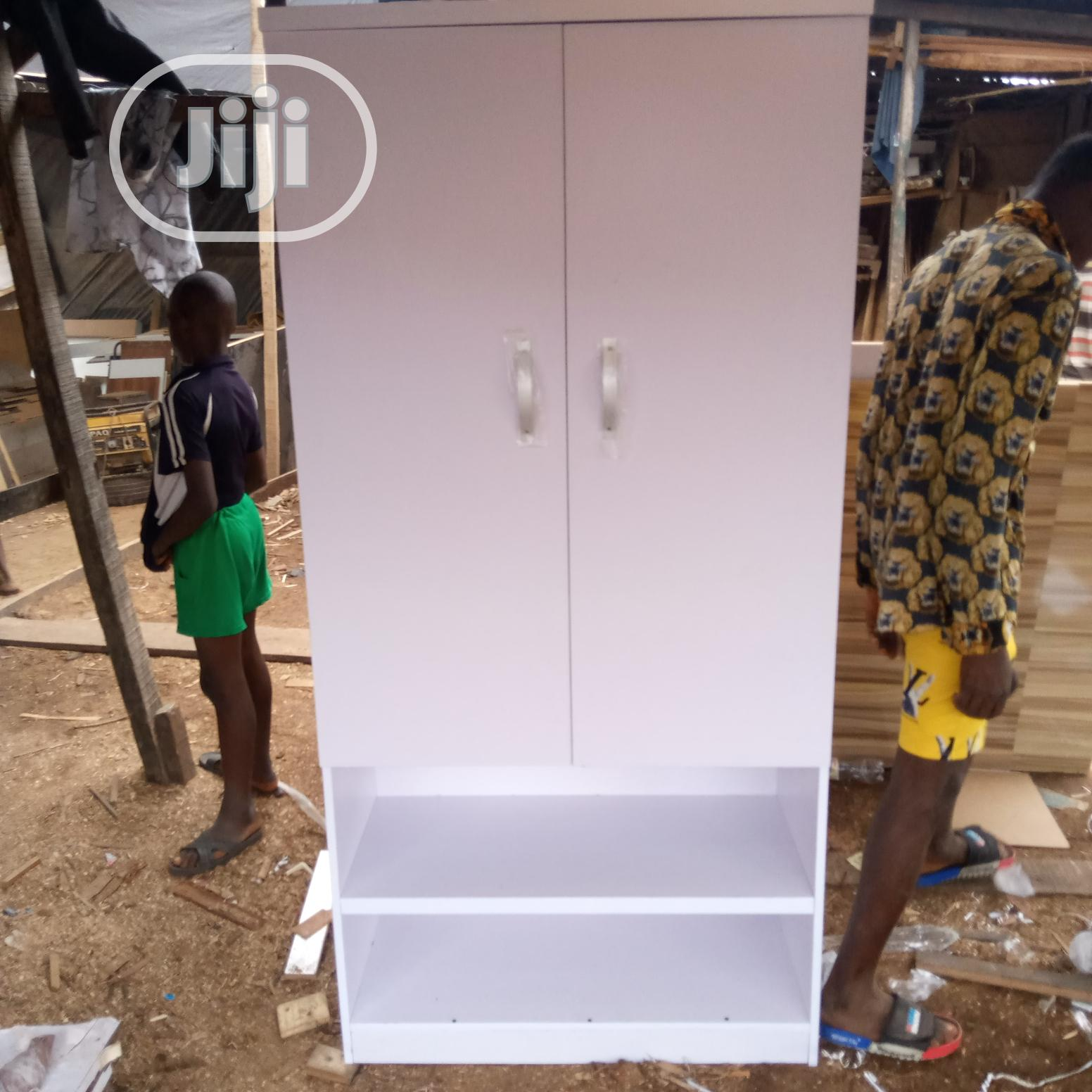 Wardrobe White | Furniture for sale in Isolo, Lagos State, Nigeria