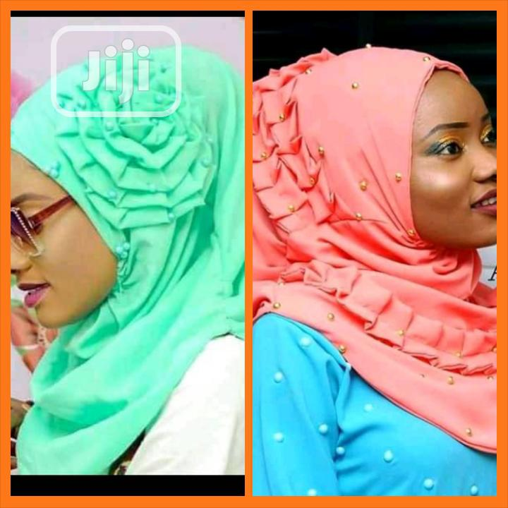 A Design Hijab And Scarf   Clothing Accessories for sale in Wuse 2, Abuja (FCT) State, Nigeria