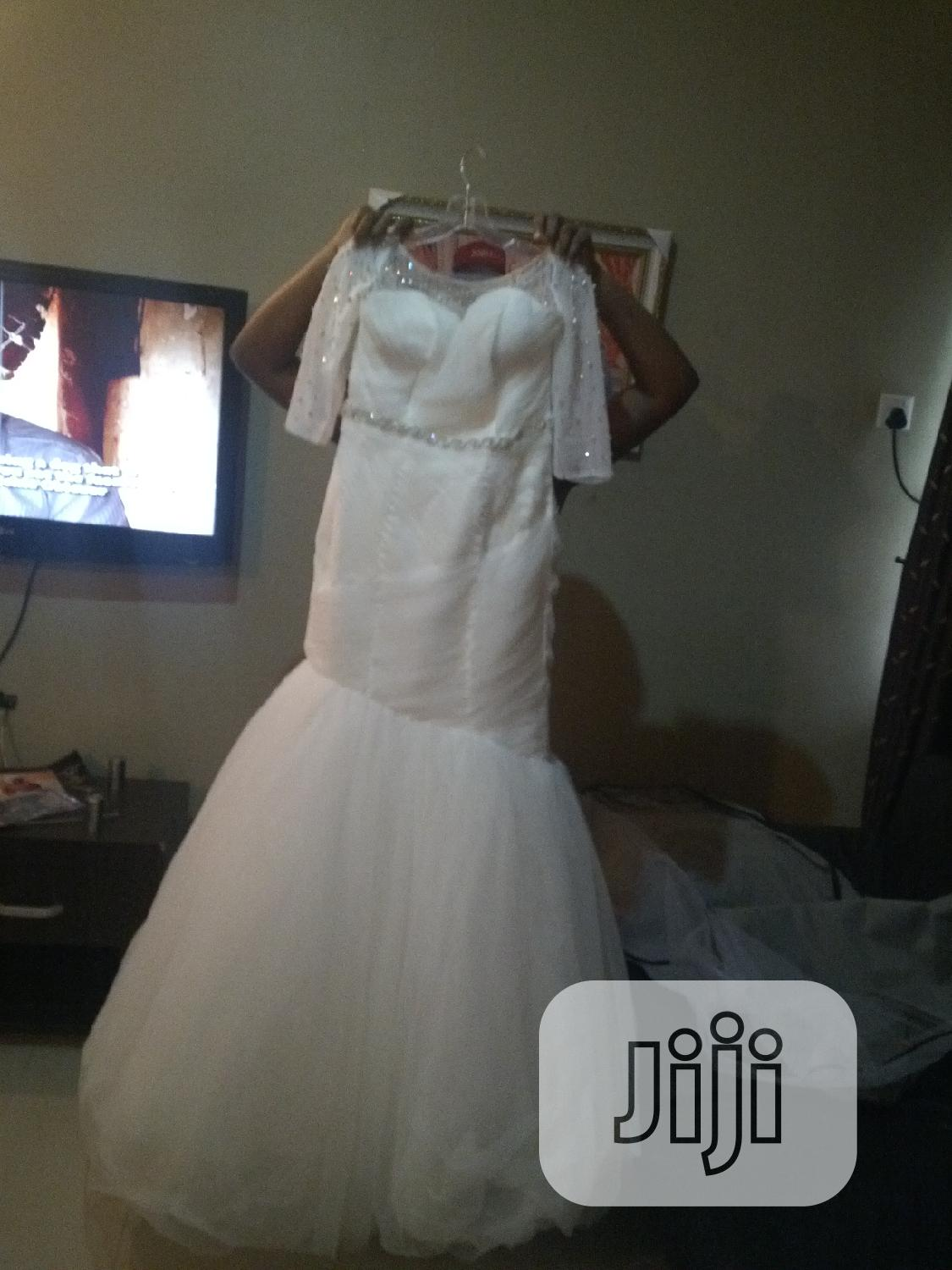 Off White Used Wedding Dress From Brides And More In Amuwo Odofin Wedding Wear Accessories Chukwuoma Okafor Obuna Jiji Ng For Sale In Amuwo Odofin Buy Wedding Wear Accessories From,Plus Size Wedding Dresses Cleveland Ohio