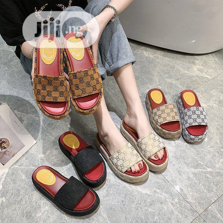 Latest Gucci Ladies Slippers in Lagos