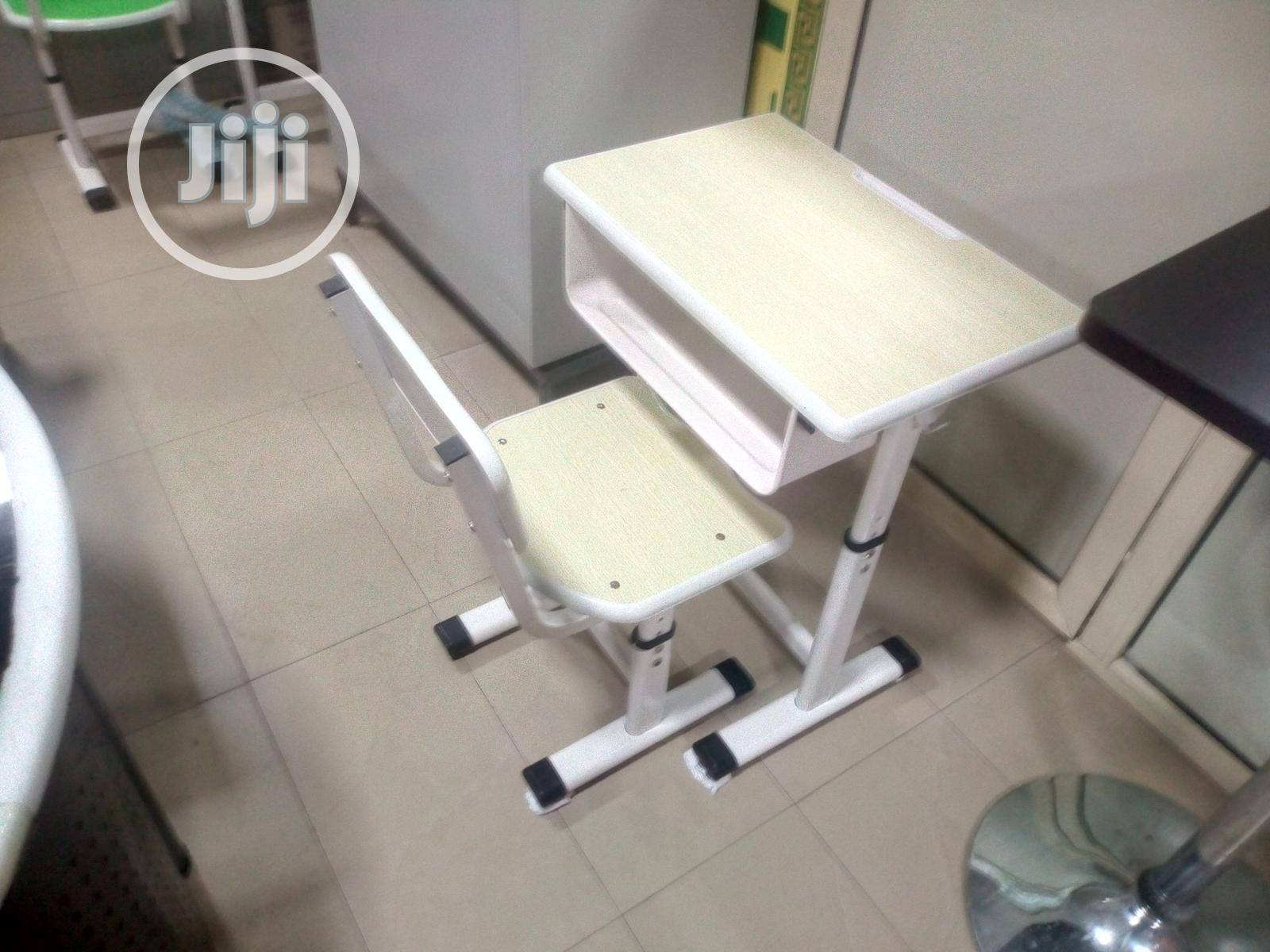 Archive: Adjustable Student Desk And Chair