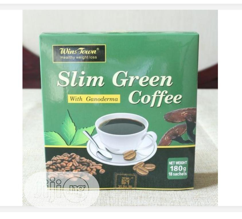 Slim Green Coffee With Ganoderma,Weight Loss Green Coffee | Vitamins & Supplements for sale in Lagos Island (Eko), Lagos State, Nigeria