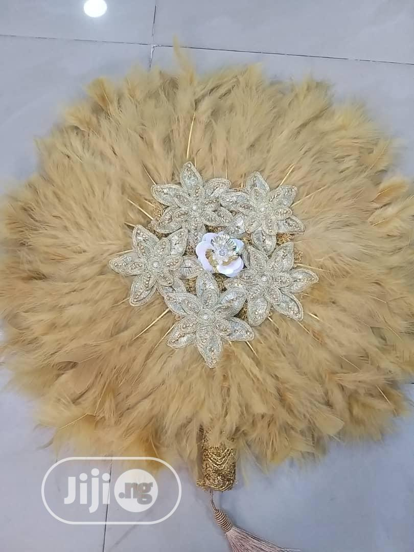 Classy Bridal Handfan | Wedding Wear & Accessories for sale in Ikeja, Lagos State, Nigeria