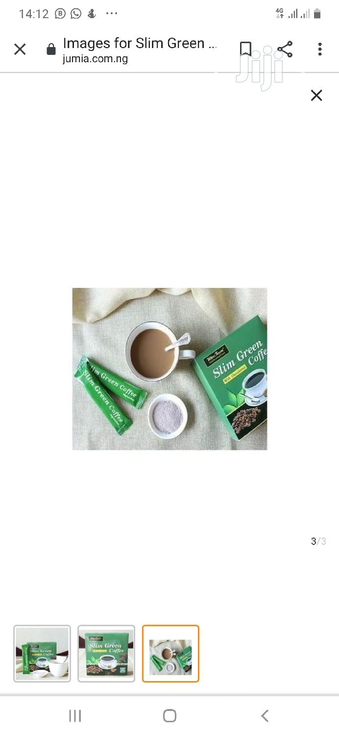 Slimmex Flat Tummy Green Coffee Tea for Weight Loss | Vitamins & Supplements for sale in Mushin, Lagos State, Nigeria