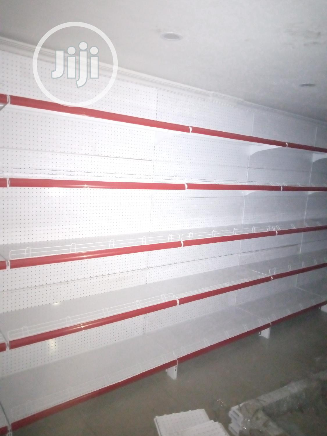 4feets Wide Single Sided Supermarket Shelves   Store Equipment for sale in Agboyi/Ketu, Lagos State, Nigeria