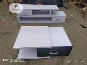 Modern Tv Console And Center Table   Furniture for sale in Lagos State, Oshodi