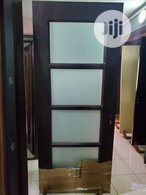 Wooden Glass Door 840ft | Doors for sale in Lagos State, Orile