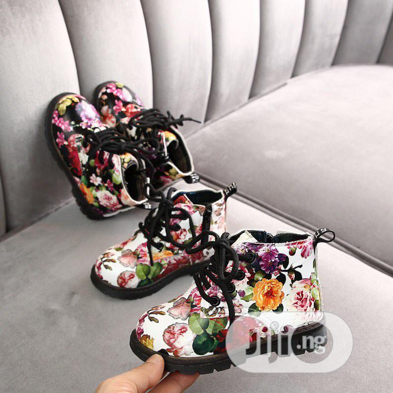 Multi Color Kiddies Boots